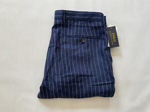 Polo Ralph Lauren Men's Pants Straight Fit In Navy 35X30