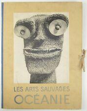 Les Arts Sauvages Oceanie Poncetton Albert Morance ART PACIFIC ISLANDS 1930