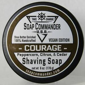Courage Shaving Soap - by Soap Commander (Pre-Owned)