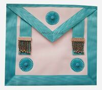 masonic regalia-CRAFT MASTER MASON (MM) APRON LAMBSKIN (BRAND NEW IN PACKAGING)