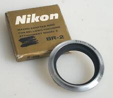 NIKKOR NIKON BR-2 MACRO ADAPTER RING FOR BELLOWS IN BOX