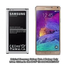 Samsung Galaxy Note 4 Authentique Original Samsung 3220 mAh EB-BN910BBE Batterie