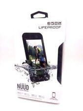 LIFEPROOF NUUD IPHONE 6S PLUS WATERPROOF SHOCK SNOW PROOF CASE COVER BLACK