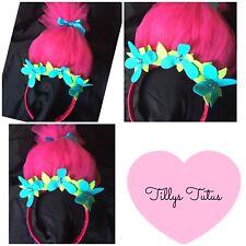 Trolls Poppy Headband, Party , Fancy Dress