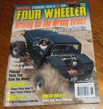 "FOUR WHEELER MAGAZINE JUNE 2000 Super Flexy Jeep TJ, 4"" Chevy Lift Make Rollcage"