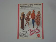 advertising Pubblicità 1975 BARBIE MATTEL