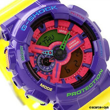 CASIO G-SHOCK Hyper Crazy Colors Watch GShock GA-110HC-6A