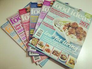 6 x SUPER FOOD IDEAS MAGAZINES - 2005