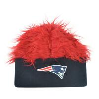 NFL New England Patriots Lure Fuzz Hair Headband Knit Beanie Fan Game Day Hair