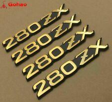 NEW Datsun Gold 280ZX Fender Factory Oem Emblem Decal Badge For Nissan Nameplate
