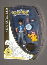 Pokemon Ash & Pikachu w Hat Figure 2016 SDCC Exclusive 20th Anniversary Tomy