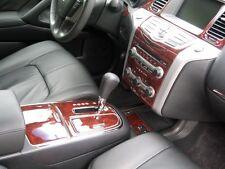 2009 2010 2011 INTERIOR BURL WOOD DASH TRIM KIT SET FOR NISSAN MURANO S SL LE SV
