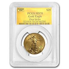 1/2 oz Gold American Eagle MS-70 PCGS (Random Year) - SKU #83496
