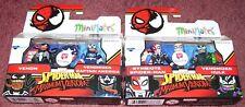 Minimates Marvel Walgreens Exclusive Spider-Man MAXIMUM VENOM LOT