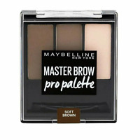 Maybelline Master Brow Pro Palette - 80 Soft Brown FREE SHIPPING