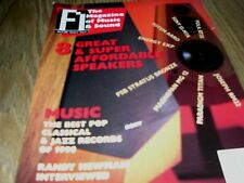 FI THE MAGAZINE OF MUSIC AND SOUND 8 GREAT SUPER AFFORDABLE SPEAKERS MARCH 1999