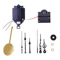 Quartz Pendulum Clock Movement DIY Clock Making Kits with Hands and Pendulum