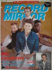RECORD MIRROR 27/8/83 - BIG COUNTRY - SPANDAU BALLET