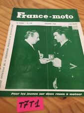 France moto magazine FFM N° 148 mai 1968