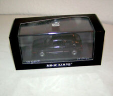 VW Golf II GTi - 1985 black - Minichamps 1:43!