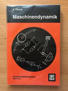 Heinz Ulbrich: Maschinendynamik (Teubner-Verlag, neuwertig)