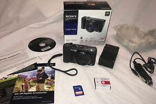 Sony Cyber-shot DSC-HX9V 16.2MP Digital Camera + Extra Battery & Original Box