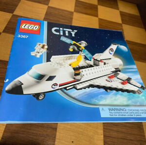 Lego City Instruction Manual Book ONLY 3367 Space Shuttle