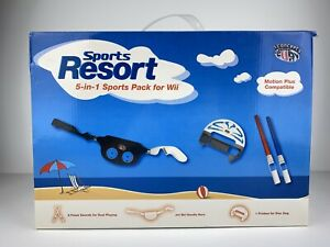 Wii Controller Add-on Sports Resort 5 in 1 Pack for Wii Motion Plus Compatible