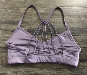 Alo Yoga Synthetic Sunny Strappy Bralette Bra Womens Sz S .