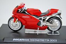 1:24 Racing Champions 2003 DUCATI 999 TESTASTRETTA Motorcycle + Display Box MIB