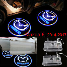 2x LED Mazda 3D Logo Door Courtesy Laser Shadow Lights For Mazda 6 ATENZA 2014+