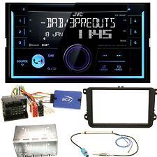 JVC KW-DB93BT USB Bluetooth MP3 DAB+ Einbauset für EOS Polo Caddy Amarok Scirocc