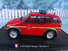 1/43  DelPrado 2004 Nissan Terrano II France  FIRE