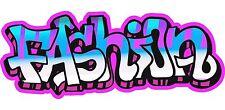 Grafitti Style Graffix Grafix Fashion Sticker Decal Graphic Vinyl Label