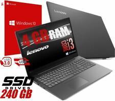 "Notebook Lenovo V130 Portatile Display 15.6"" Intel i3-7020U 4Gb SSD 240GB Win10"