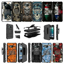 For HTC U11 Life Cover Protective Clip Case Kickstand - Tough Designs