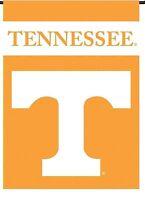 Tennessee Volunteers 2-sided GARDEN Outdoor Window Flag Banner University of