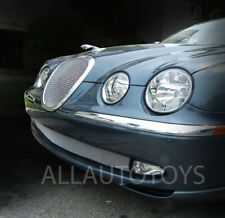 Jaguar S-Type TOP Insert & Lower Bumper Mesh Grille Grill Set 1999 through 2004