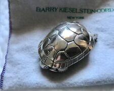 Silver Turtle Belt Buckle 2.5� Vintage Barry Kieselstein-Cord 1996, 925 Sterling