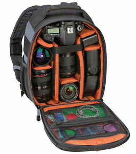 "Tamrac Jazz 84 DSLR Camera Travel Pack Bag Backpack Holds 10"" Tablet NEW"