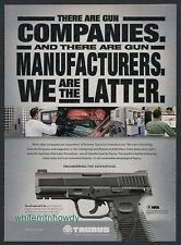 2012 TAURUS 24/7 G2 Pistol PRINT AD Original Gun Advertising