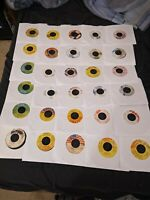 "Reggae Oldies / Dancehall - 7"" Vinyl Lot Of 30 Singles - Free Shipping  - #5"