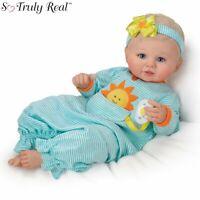 """Ashton Drake Violet Parker """"Pocket Full Of Sunshine"""" Weighted Baby Doll NEW Gift"""