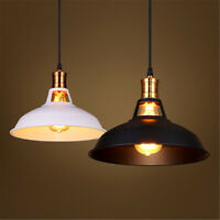Industrial Retro Vintage Pendant Lamp Kitchen Bar Hanging Ceiling Light Shade