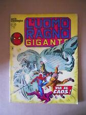 L'UOMO RAGNO GIGANTE Cronologica n°29 1978   Edizione Corno [G753B] DISCRETO