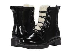 Women's Shoes Sorel LENNOX LACE COZY Winter Boots 1929861010 BLACK PATENT