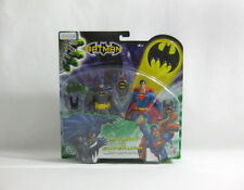 """NEW 2003 Justice League ✧ BATMAN + SUPERMAN ✧ Mattel DC Comics 6"""" Figures MOC"""