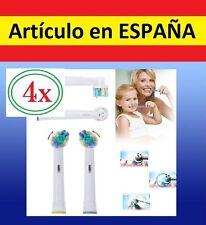 4x recambios EB25-A par cepillo de dientes electrico Oral B floss action EB25A