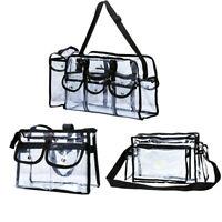 Premium Clear Makeup Artist Organizer PVC Toiletry Bag Transparent Cosmetic Bag