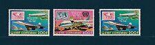 Comores république  avion  concorde Paris New-York  1976/78   PA  **